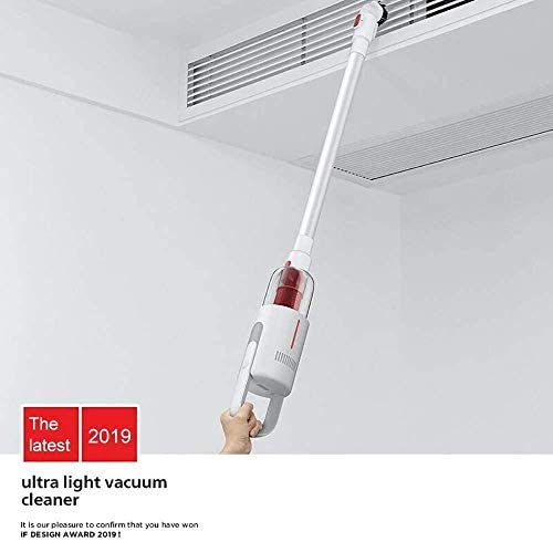 LYYJIAJU Aspirateur sans Fil 5.5Kpa Aspiration 2 Forte 1 bâton Vide Ultra-Silencieux aspirateur à Main avec Moteur brushless Multi-Attaches