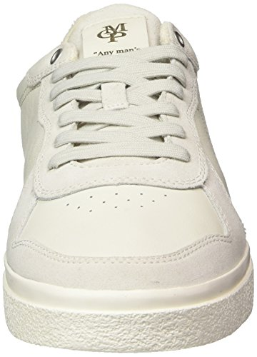 free shipping Cheapest many kinds of cheap price Marc O'Polo Men's Sneaker 80223783504303 Trainers White (White/Blue 103) shopping online with mastercard Dic4802d