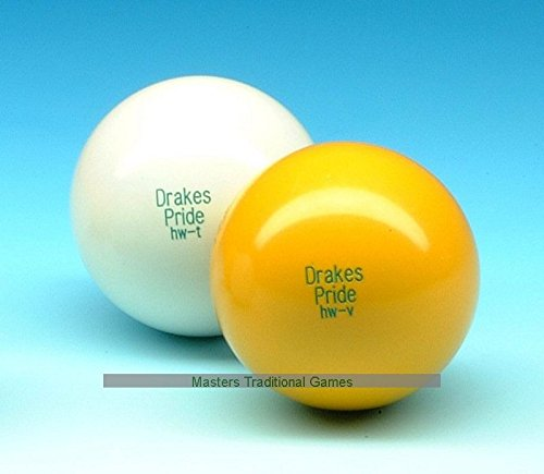 Set of 6 Drakes Pride Indoor White Heavyweight Jacks
