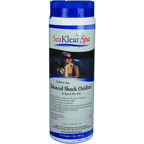 SeaKlear Spa 1140311 Hot Tub Chlorine-Free Balanced Shock Oxidizer - 2lb Bottle (Chlorine Free Pool Shock compare prices)