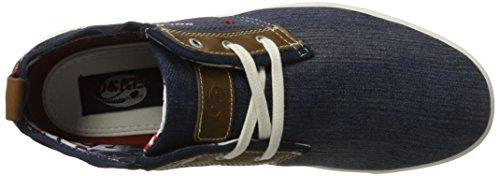 Dockers by Gerli 40hn008-790600, Zapatillas Altas para Hombre Azul (Blau 600)