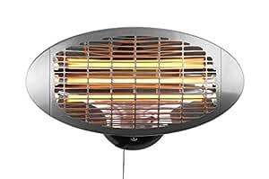 Firefly 2 kW montado en la Pared de Cuarzo de calefacción con 3 ajustes de Apagado