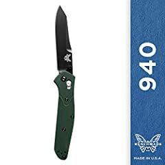 Highly regarded as one of the most quintessential EDCs of all time, the 940BK is slim, stylish and after over a decade has performed in just about any situation imaginable. Designer: Osborne, Mechanism: AXIS, Action: Manual-opening, Blade Ste...