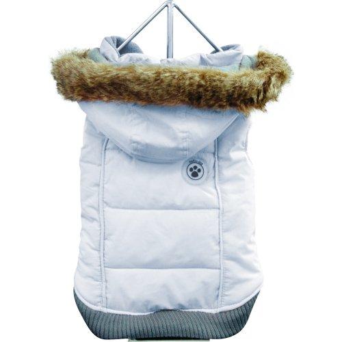 FouFou Dog Foubis Dog Coat, Baby Blue, X-Small, My Pet Supplies