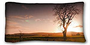 "Custom Nature Pillow Covers Bedding Accessories Size 20""X36"" suitable for Twin-bed"