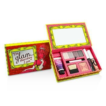 Benefit Im Glam Therefore I am Makeup Kit: 1x Liquid Pearl, 1x Glamming Powder