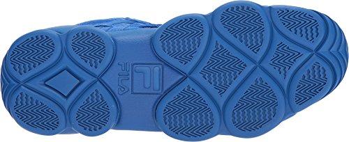 Fila Mens Spaghetti Hightop Basketball Chaussures Sneakers Prince Bleu / Prince Bleu / Blanc