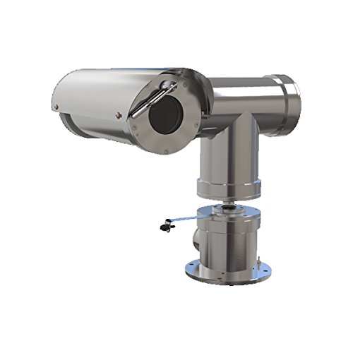 SAMSUNG OPTO-ELECTRONICS DBA HANWHA TECHWIN AM TNP-6320E2WF-C CLC CSA 2 MP Outdoor Network PTZ Camera, Silver