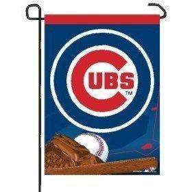 WinCraft MLB Chicago Cubs WCR21279041 Garden Flag, 11'' x 15''