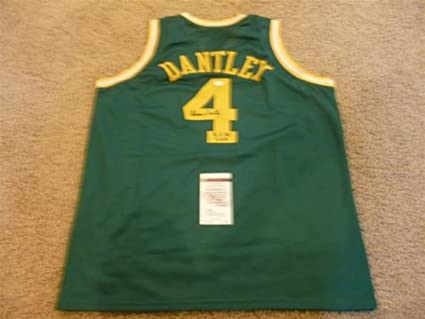 3b6da45cf1f54 Image Unavailable. Image not available for. Color: ADRIAN DANTLEY SIGNED  AUTO UTAH JAZZ JERSEY ...