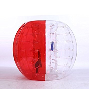 ea0089b98ab0 Buy inflatables club Factory customize 1. 5m Inflatable Bumper Ball Bubble  Soccer Ball Bubble Football For Sale-Half Clear Half Red Ball Online at Low  ...