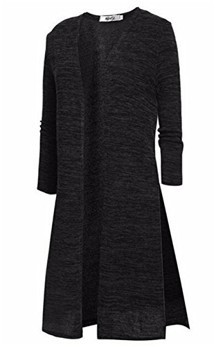 over Femme Manches Pull AILIENT El Chaud Long Longues Mode Cardigan Pull wxxSzaqEg