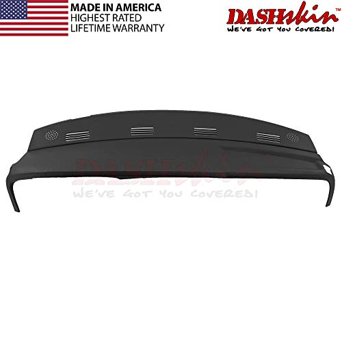 DashSkin Molded Dash Cover Compatible with 02-05 Dodge Ram in Black (USA Made)