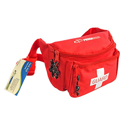 Primacare KB-8004 First Aid Fanny Pack, Red ()
