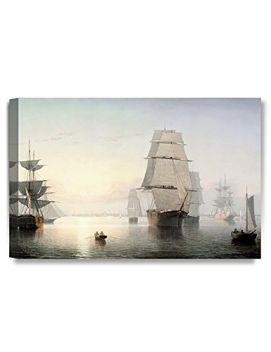 19th Century Canvas Painting - 1
