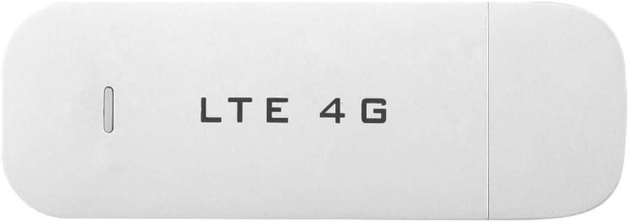 Adaptador USB 4G LTE, Adaptador de Red USB Inalámbrico, WiFi Hotspot Router módem Stick Mini adaptador de red compartir hasta 10 usuarios WiFi admite expansión de memoria Micro SD de hasta 32GB