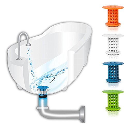 TubShroom The Revolutionary Tub Drain Protector Hair