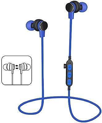 BOBOLover Auriculares Bluetooth V4.2 Cascos Deportivos Magnéticos ...