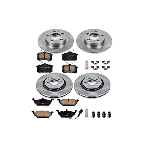 Autospecialty KOE840 1-Click OE Replacement Brake Kit