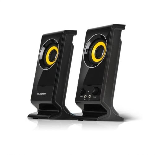 Pleomax Usb - PLEOMAX S-100 PC speaker 2.0CH Multimedia Speaker USB power 3W X2