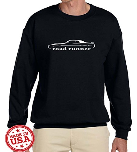 1971-1972-plymouth-road-runner-classic-car-outline-design-sweatshirt