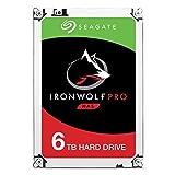 Seagate IronWolf Pro 6 TB NAS RAID Internal Hard Drive - 7,200 RPM SATA 6 Gb/s 3.5-inch - Frustration Free Packaging (ST6000NE0021)