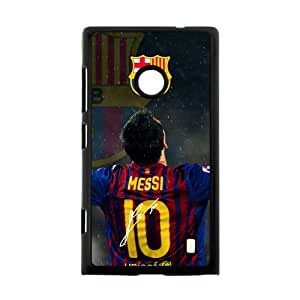 FC Barcelona Lionel Messi Nokia Lumia 520 Cell Phone Cases Cover Popular Gifts