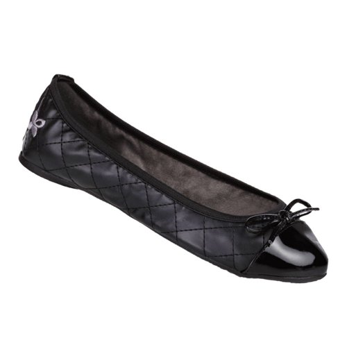 Butterfly Twists Women's Olivia Ballet Flats Black Ee4IGGqY3z