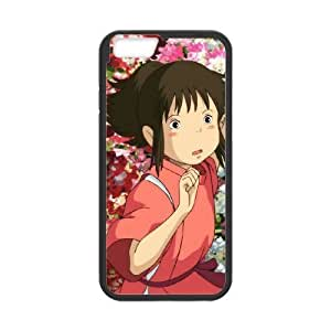 iPhone 6 4.7 Inch Cell Phone Case Black Spirited away 001 Basic Cell Phone Carrying Cases LV_6111676