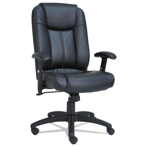 ALERA CC4119 CC Series Executive High-Back Swivel/Tilt Leather Chair, -