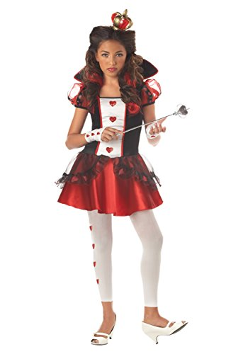 Teen Sassy Royal Queen of Hearts Costume - 9