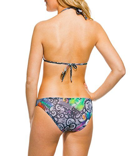 Kiniki Tan Thru Sonnendurchlässiger Inca Bikinioberteil