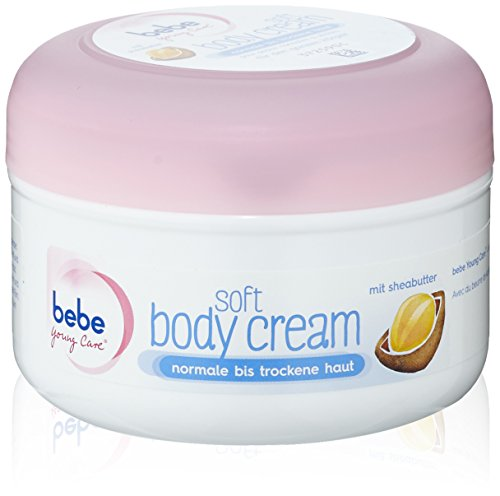 Bebe Young Care Soft Body Creme, 200 ml, 3er Pack (3 x 200 ml)