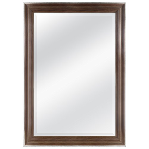 MCS 24 by 36 inch Scoop Mirror, 29.5 by 41.5 inch Outside -