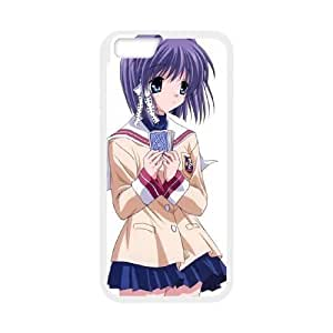 Clannad iPhone 6 4.7 Inch Cell Phone Case White TPU Case wyc7ni-1102161