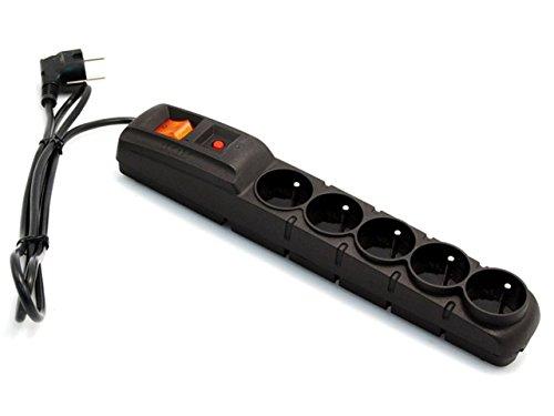 Acer F5 5 m Negro con la protecci/ón contra sobretensiones