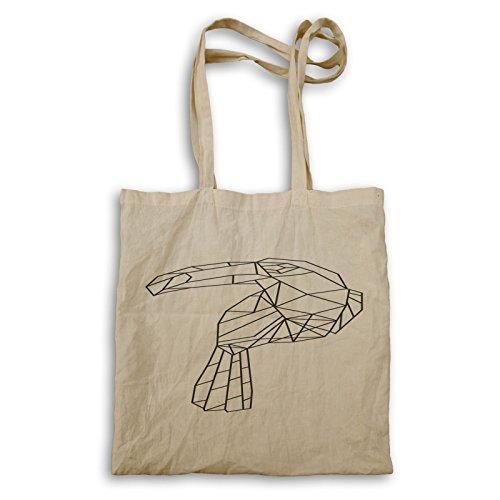 Tote Bag Geometrica Di Uccelli Tatuaggi R101r