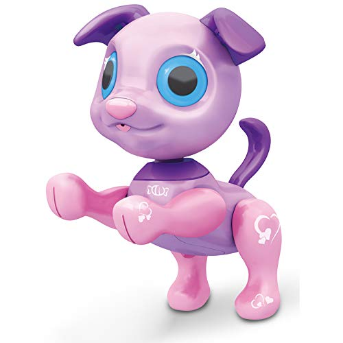 Liberty Imports My Best Friend Interactive Smart Puppy - Kids Electronic Pet Toy Robot Dog - Ideal Gift Idea for Girls (Purple)