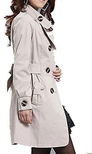 Babyhclub Women's Trench Long Sleeve Jacket