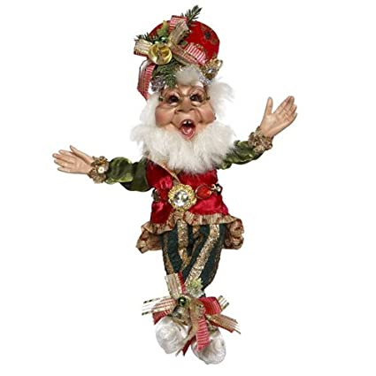 mark roberts elves merry christmas elf 51 77660 small 11 inch - Mark Roberts Christmas