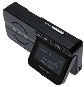 Vivanco Cellular Line Bluetooth Car Kit w/ LCD Display - Kit de coche (LCD, Inalámbrico, 2.0+EDR, Negro, 10 h, 600 h)