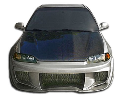 W-Sport Front Bumper Cover - 1 Piece Body Kit - Fits Honda Civic 1992-1995 ()