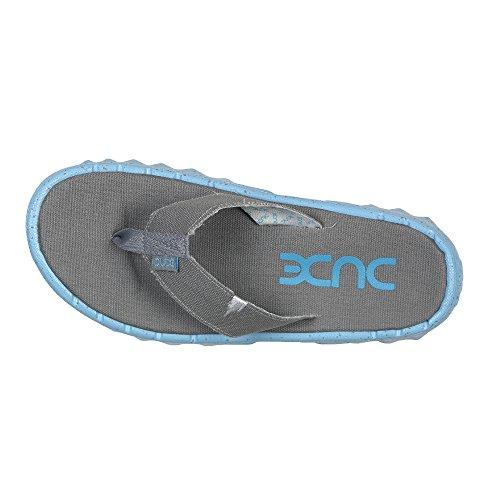 di Sava Dude Grigio Grigio Tela Azur Shoes Infradito Donna Uomo wTxqf