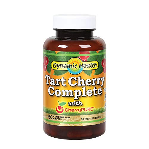 - Dynamic Health Tart Cherry Complete with Cherry Pure, 60 Count