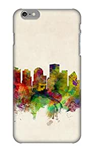 Guidepostee High-quality Durability Case For Iphone 6 Plus(Edmonton Canada Skyline)