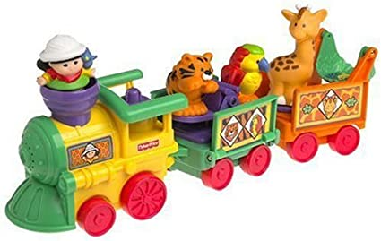 Amazon Com Fisher Price Little People Zoo Train Toys Games
