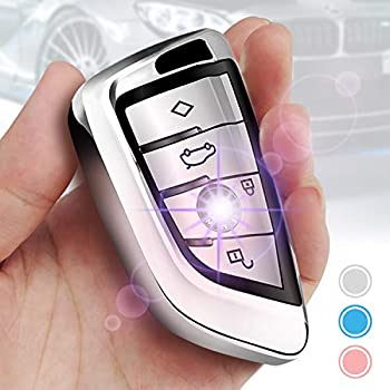 Amazon.com: QinLing Soft TPU case Cover for BMW Accessories ...