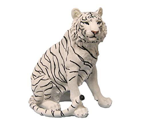 DWK Ishtar Large White Tiger Figurine -
