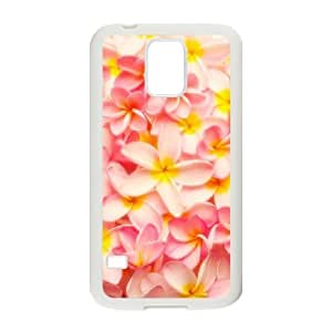 Red Hawaii Flower Classic Personalized Phone Case for SamSung Galaxy S5 I9600,custom cover case ygtg605660