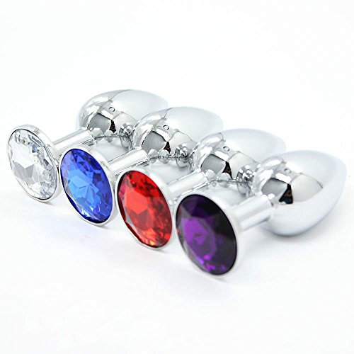 1 Pcs Size 7Cmx2.8Cm Metal Anal Plug Butt Plug Stainless Steel Crystal Jewelry Sexy Insert Stopper Sex Products